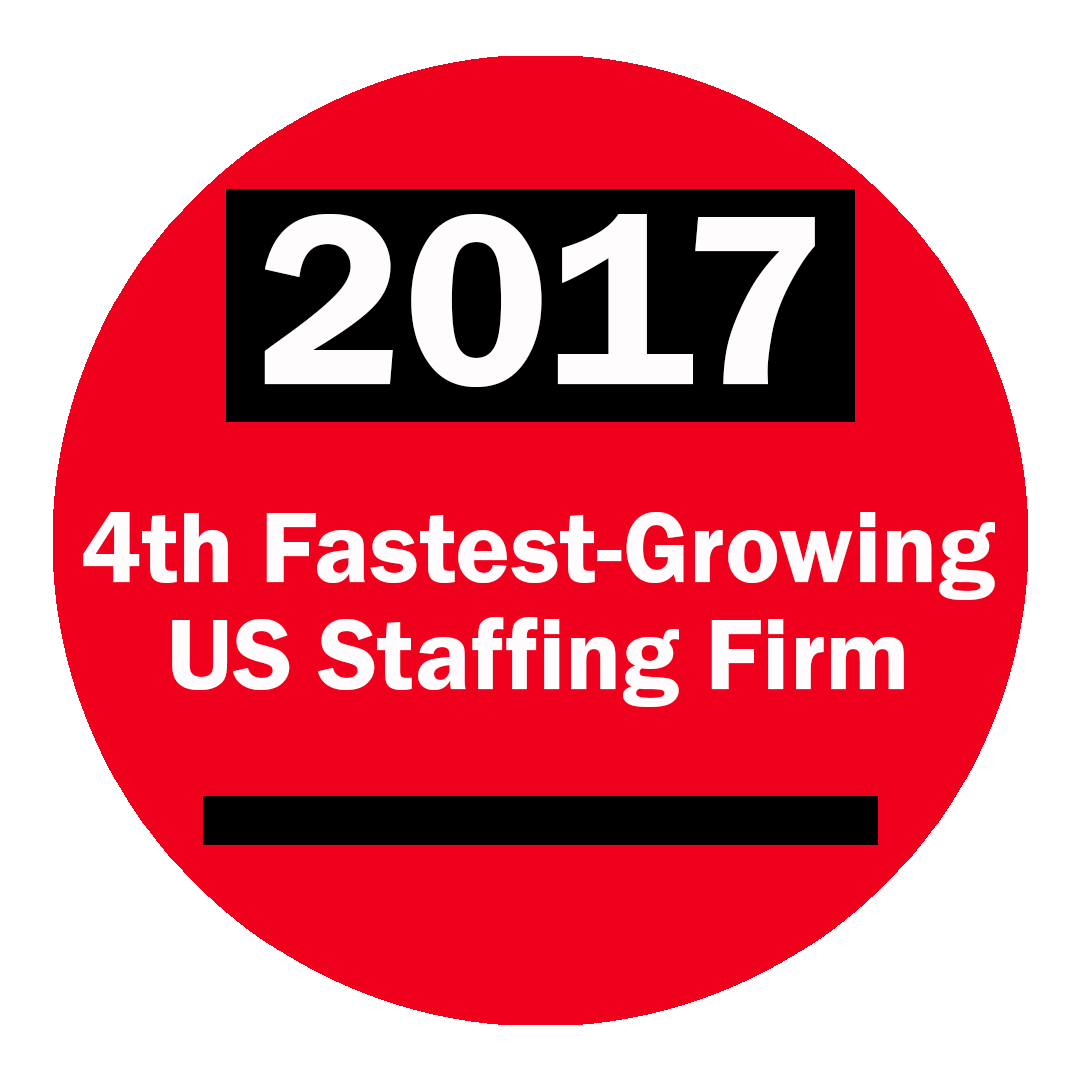 2017 4th Fastest Growing Staffing Firm