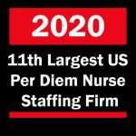 DNA Named 11th Largest US Per Diem Nurse Staffing Firm in the US 2020