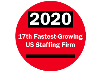 Dedicated Nursing Associates (DNA) is ranked 17th fastest-growing staffing firm in the US for 2020 by Staffing Industry Analyst.